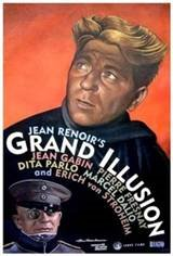 La grande illusion Movie Poster