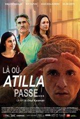 Là où Atilla passe... Affiche de film