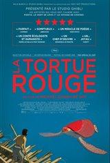 La tortue rouge Affiche de film