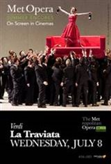 La Traviata Met Summer Encore Movie Poster