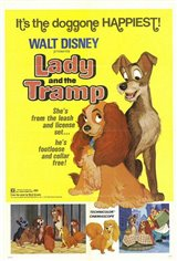 Lady and the Tramp (1955) Large Poster
