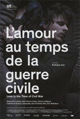 L'amour au temps de la guerre civile Affiche de film