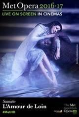 L'amour de loin - Metropolitan Opera Affiche de film