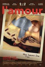 L'amour (v.o.f.) Affiche de film