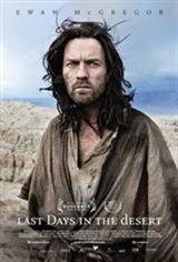 Last Days in the Desert Movie Poster