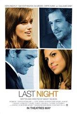 Last Night (2011) Movie Poster