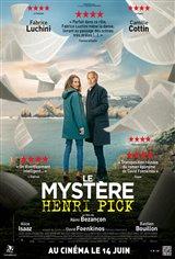 Le mystère Henri Pick Affiche de film