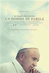 Le pape François : Un homme de parole Affiche de film
