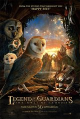 Legend of the Guardians: The Owls of Ga'Hoole Movie Poster