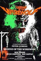 Legend of the Werewolf Movie Poster