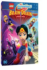LEGO DC Super Hero Girls: Brain Drain Movie Poster