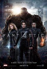 Les 4 fantastiques Affiche de film