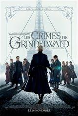 Les animaux fantastiques : Les crimes de Grindelwald Affiche de film