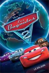 Les bagnoles 2 3D Movie Poster