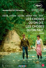 Les choses qu'on dit, les choses qu'on fait Movie Poster
