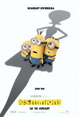 Les Minions Affiche de film