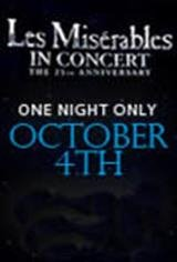 Les Miserables 25th Anniversary Concert Movie Poster