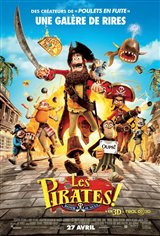 Les pirates ! Bande de nuls 3D Movie Poster