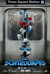 Les Schtroumpfs 3D Movie Poster