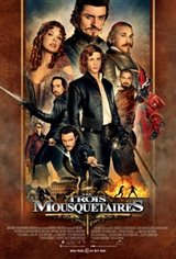 Les trois mousquetaires 3D Movie Poster