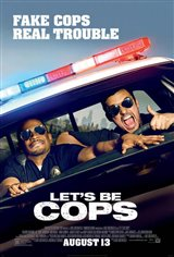 Let's Be Cops Movie Poster Movie Poster