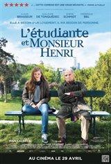 L'étudiante et Monsieur Henri Affiche de film