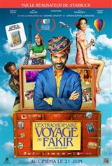 L'extraordinaire voyage du fakir Affiche de film