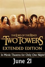 Lord of the Rings: The Two Towers - Extended Edition Event Movie Poster