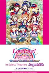 Love Live! Sunshine!! The School Idol Movie Over The Rainbow Movie Poster