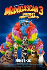 Madagascar 3: Europe's Most Wanted Movie Poster Movie Poster
