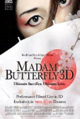Madam Butterfly 3D Movie Poster
