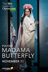 Madama Butterfly: 2020 Met Opera Encore Large Poster
