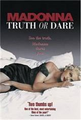 Madonna: Truth or Dare Movie Poster