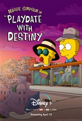 Maggie Simpson in 'Playdate With Destiny' (Disney+) Affiche de film