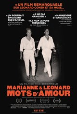 Marianne & Leonard : Mots d'amour (v.o.a.s.-t.f.) Poster