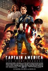 Marvel Studios 10th: Captain America: The First Avenger (IMAX) Movie Poster