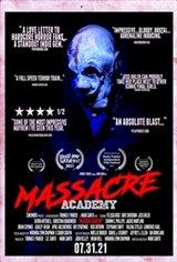 Massacre Academy Affiche de film