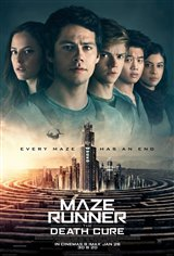 Maze Runner: The Death Cure Affiche de film