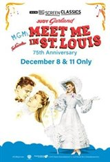 Meet Me in St. Louis 75th Anniversary (1944) presented by TCM Affiche de film