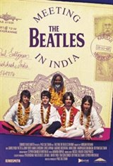 Meeting the Beatles in India Large Poster
