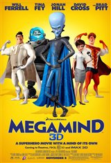 Megamind Movie Poster Movie Poster