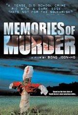 Memories of Murder (Salinui chueok) Movie Poster