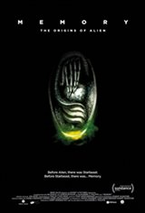 Memory: The Origins of Alien Movie Poster