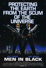 Men in Black Movie Poster Movie Poster