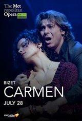 Met Summer Encore: Carmen Affiche de film