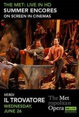 Met Summer Encore: Il Trovatore Movie Poster