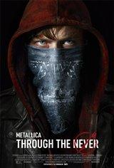 Metallica Through the Never 3D Movie Poster