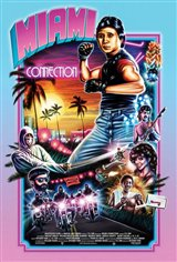 Miami Connection (w/ Postmodem) Movie Poster