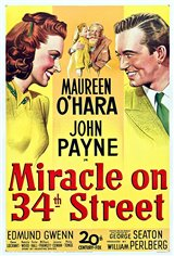 Miracle on 34th Street (1947) Movie Poster