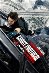 Mission: Impossible - Ghost Protocol The IMAX Experience Movie Poster